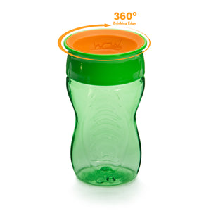 WOW CUP for Kids 360 Drinking Cup - Green, 10 oz. /296 ml