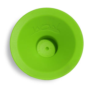 WOW CUP MINI Replacement Silicone Valve 1-piece Lime Green, 2-1/2 inch Diameter