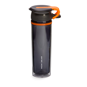 WOW GEAR 360° Double-Walled TRITAN™ Sports Bottle - Orange, 20 OZ / 600 ml