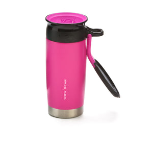 WOW GEAR Stainless Insulated 360 Sports Bottle - Pink, 13.5 OZ / 400 ML