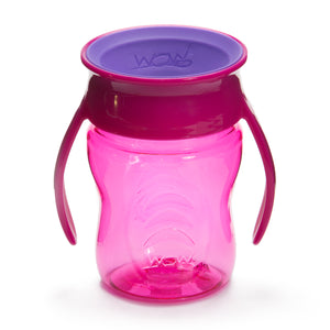 WOW CUP for Baby Transition Cup Pink/Purple