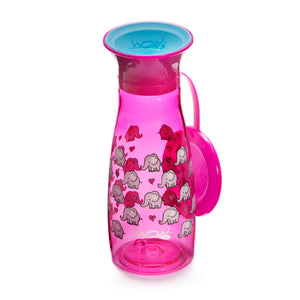 WOW CUP Mini - Pink Elephants, 12 oz/350 ml