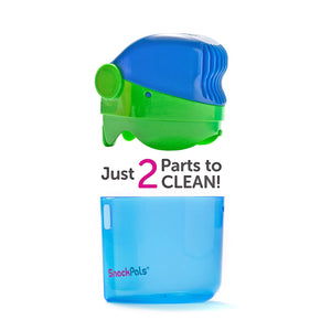 SnackPal Snack Dispenser 2 parts - Green/Blue