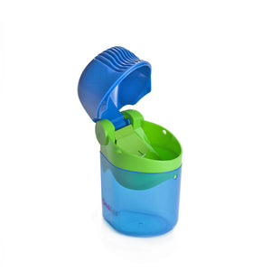 SnackPal Snack Dispenser Open - Green/Blue