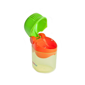 Snackpals® Snack Dispenser - Green/Orange