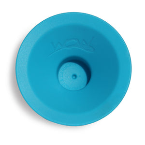 WOW CUP MINI Replacement Silicone Valve 1-piece Teal Blue, 2-1/2 inch Diameter