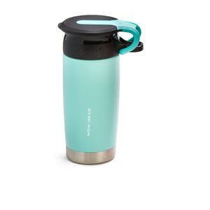 WOW GEAR Stainless Insulated 360 Sports Bottle - Turquoise, 13.5 OZ / 400 ML