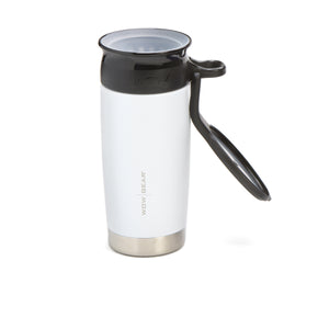 WOW GEAR Stainless Insulated 360 Sports Bottle - White, 13.5 OZ / 400 ML