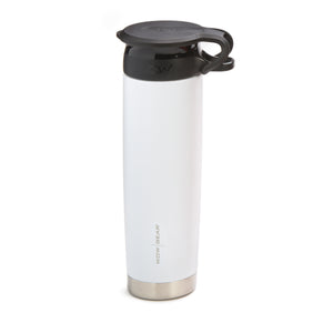 WOW GEAR Stainless Insulated 360 Sports Bottle - White, 22 OZ / 650 ML