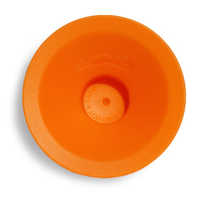 WOW CUP MINI Replacement Silicone Valve 1-piece Orange, 2-1/2 inch Diameter