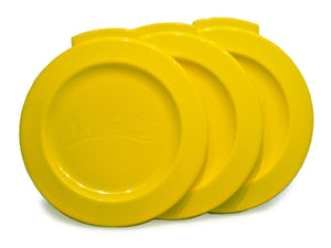 WOW CUP Travel Lids - 3 Pack - Yellow