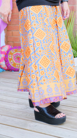 Daisy upcycled silk pallazo pants from the Boho Collection by Rock Those Frocks