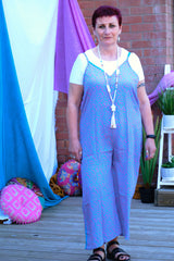 Peony cool flowing jumpsuit from the Boho Collection by Rock Those Frocks