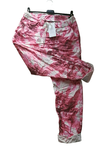 Marble Print Magic Trousers one size 10/16 £25