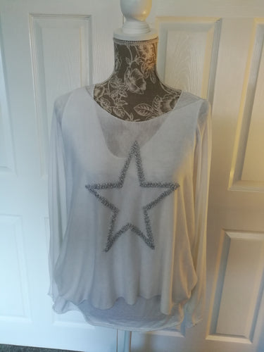 Two Part Star Top  One size 12/16
