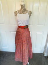 Recycled Sari Skirt - one size 8/18 £25
