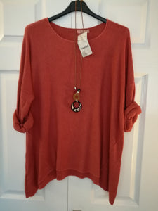 Soft Knit Top - one size 16/20 £28