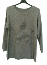 Load image into Gallery viewer, Star Jumper - one size 10/16 £30