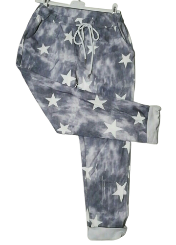 Star Print Magic Trousers - one size 10/14 £25