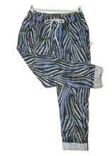 Load image into Gallery viewer, Spring Zebra Print Magic Trousers one size £25
