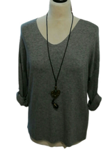 Load image into Gallery viewer, Light Weight Spring Knit V Neck Top one size 10/14 £25 SALE £15 NO RETURN