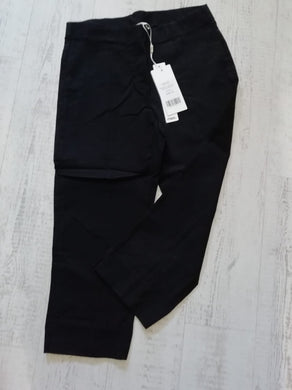 Pinns Black Crop Trousers - size 20