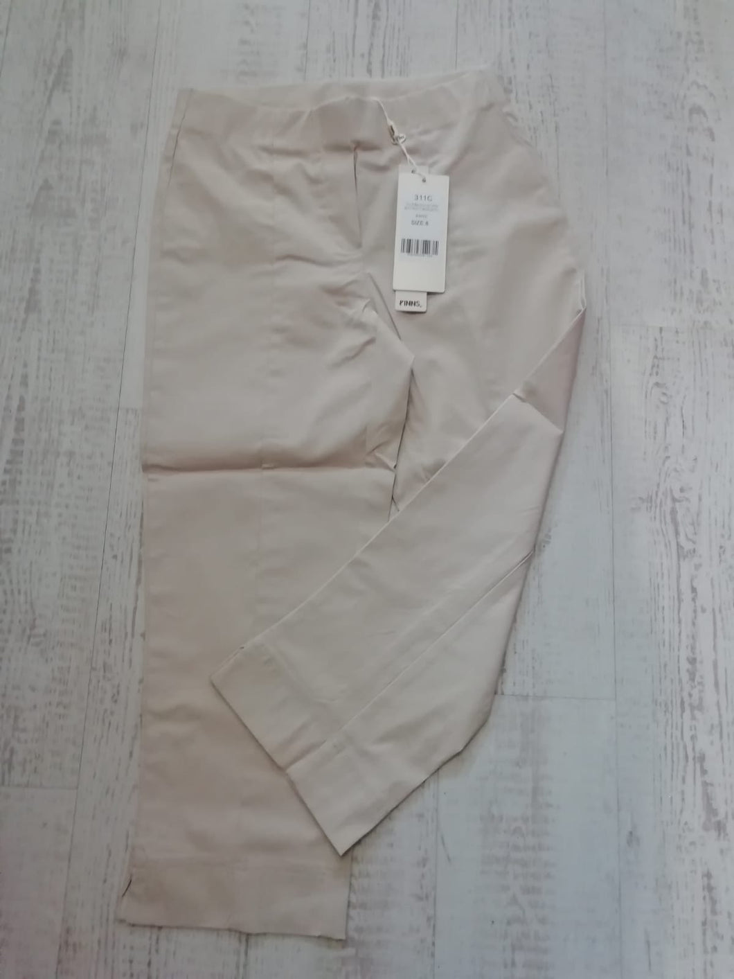 Pinns Sand Crop Trousers - size 18