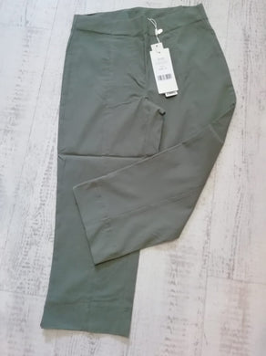Pinns Khaki Crop Trousers - size 10