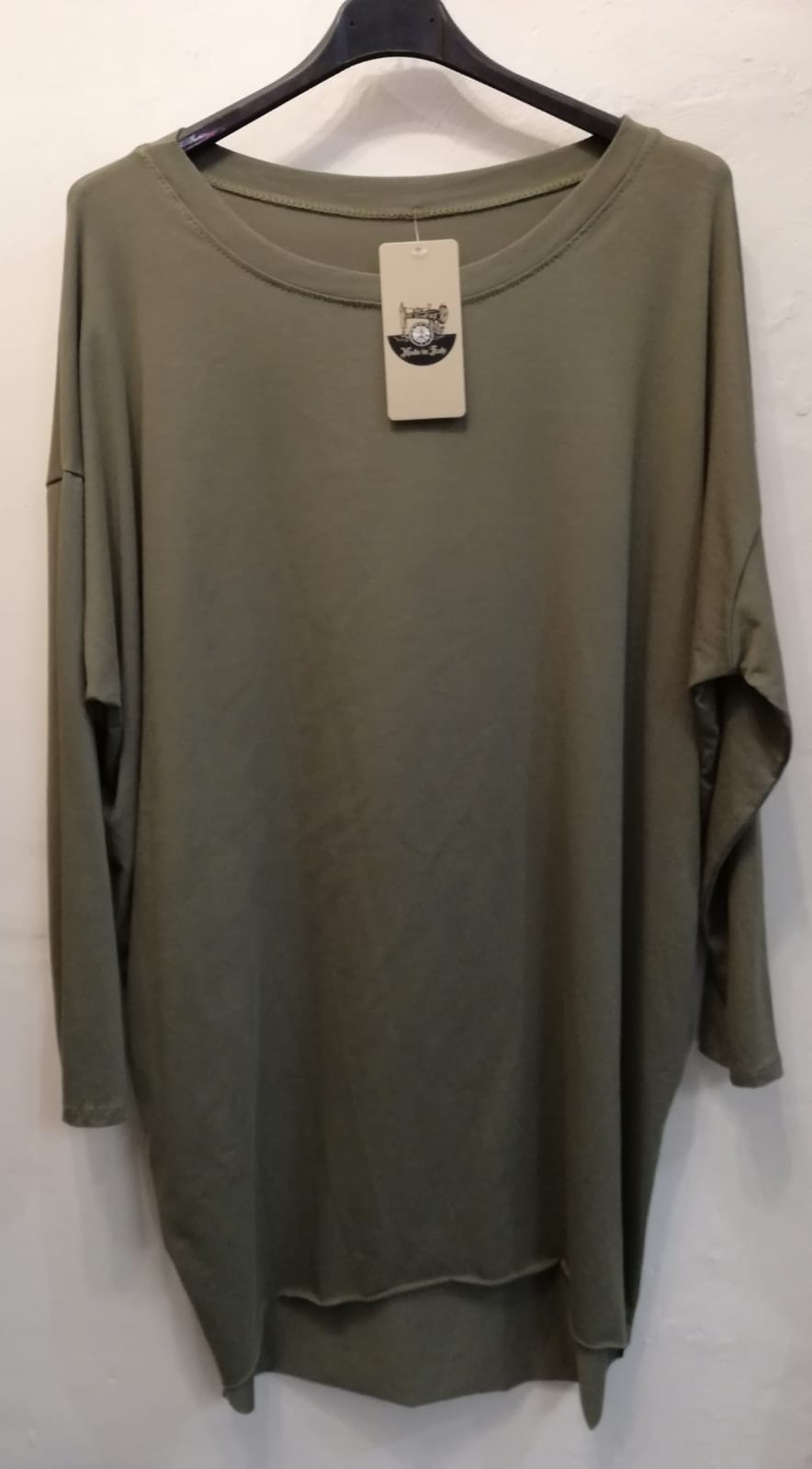 Long Sleeve Slouch T Top - one size 12/20 £20 SALE PRICE £10 NO RETURN