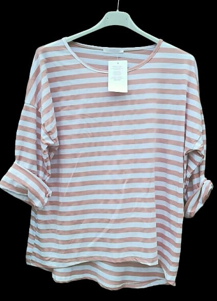 Stripe Top one size 10-14