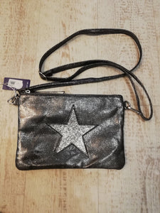 Pewter star bag