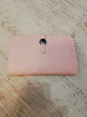 Pink travel purse wallet