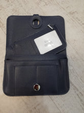 Load image into Gallery viewer, Navy travel purse wallet