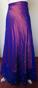 Reversible Sari Skirt - One Size 8/18
