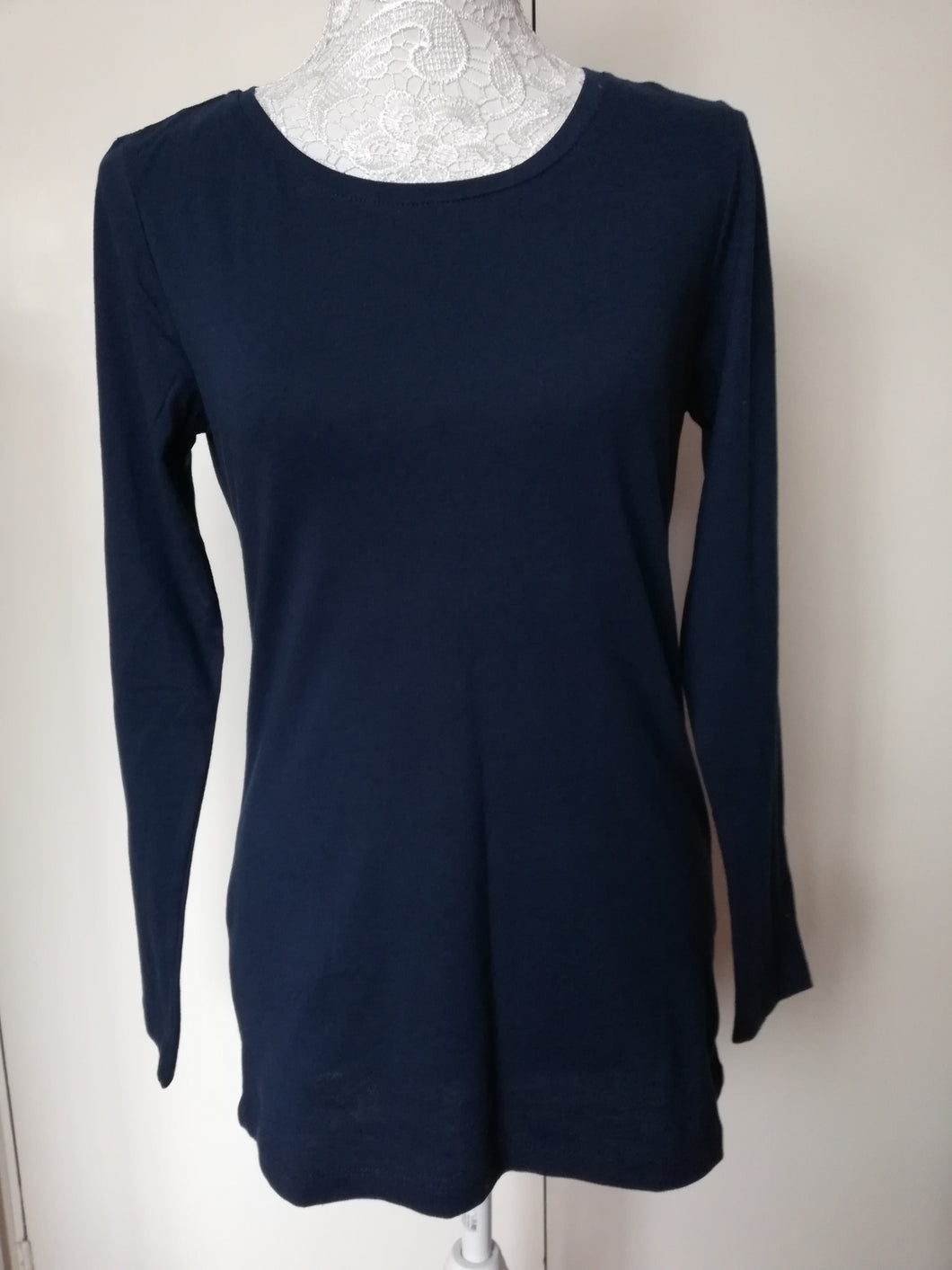 Lily & Me navy layering tee size 12