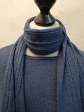 Load image into Gallery viewer, Jumper with scarf and button detail on sides one size 10-16 £38