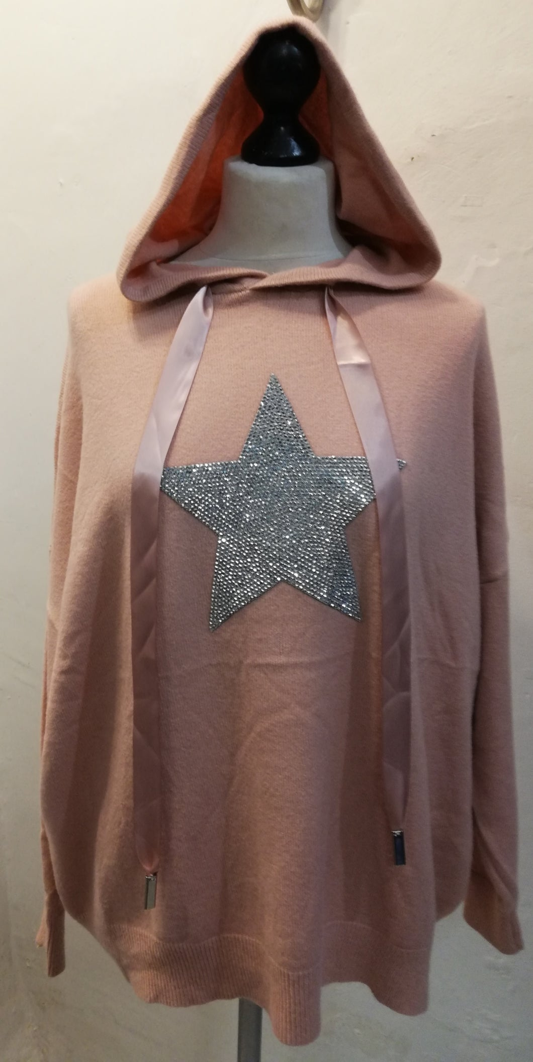 Star Hoodie one size 12 - 20