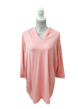 Load image into Gallery viewer, Light Spring Cotton Hoodie Top one size 16/20 £25