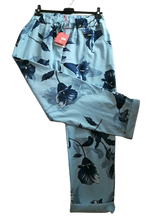Load image into Gallery viewer, Flower Print Magic Trousers size 16/20 £25