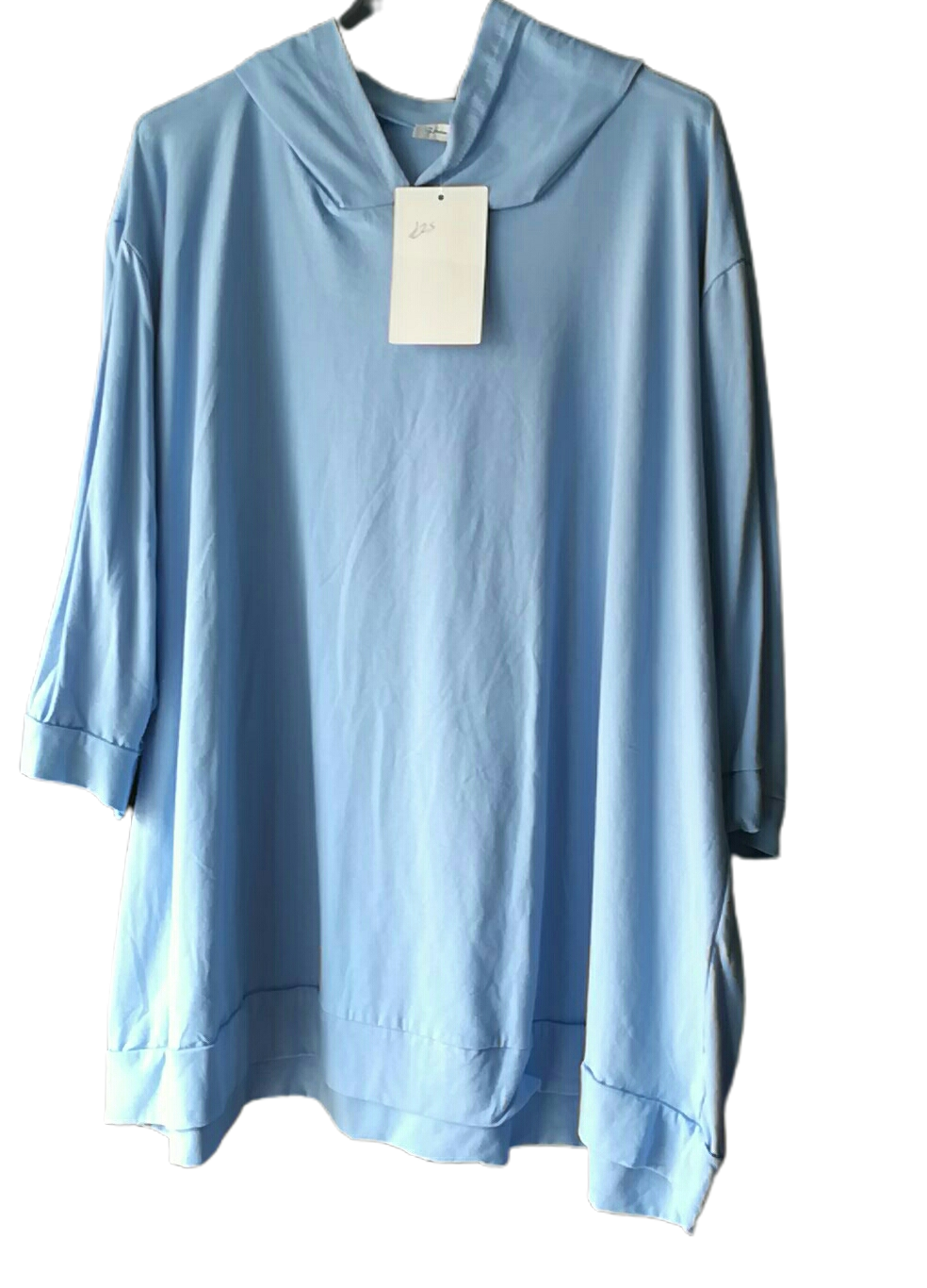 Light Spring Cotton Hoodie Top one size 16/20 £25
