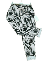 Load image into Gallery viewer, Zebra Print Magic Trousers one size £25