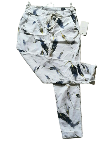 Feather Print Magic Trousers one size 10/14 £25