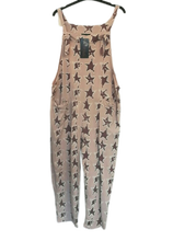 Load image into Gallery viewer, Star Print Dungarees one size 10/16 £25