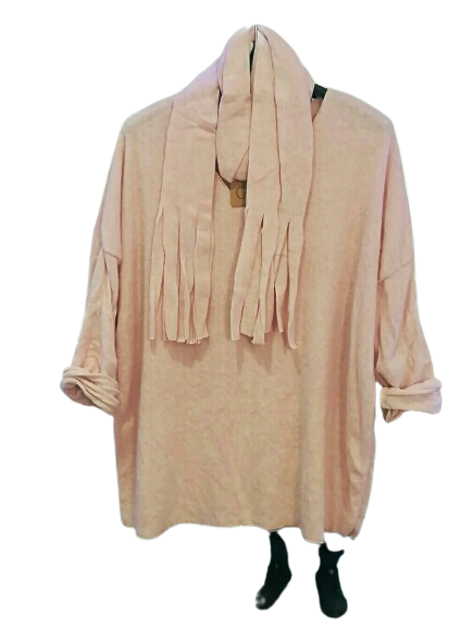 Cosy Scarf Top one size 10/14 £25