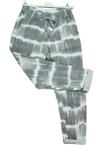 Load image into Gallery viewer, Tye Dye Magic Trousers one size 10/16 £25