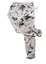 Load image into Gallery viewer, Feather Print Magic Trousers one size 10/14 £25