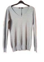 Load image into Gallery viewer, Fine Knit jumper to size 10 v neck SALE PRICE £12.50 NO RETURN