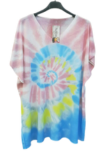 Load image into Gallery viewer, Spring Multi Coloured Top one size to a 16 £22