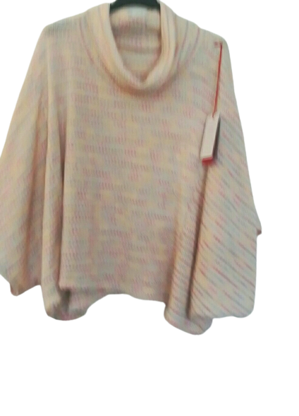 Spring Cosy Poncho Top with Sleeve one size 10/16 £25 SALE PRICE £15 NO RETURN
