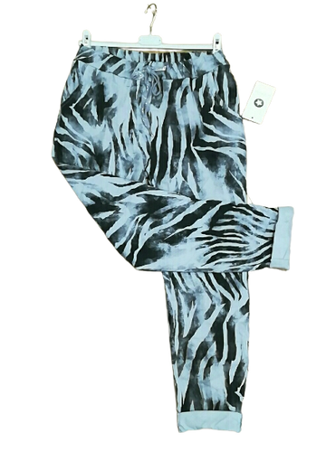 Zebra Print Magic Trousers one size £25